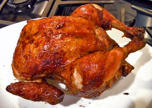 Delicious Juicy Rotisserie Chicken