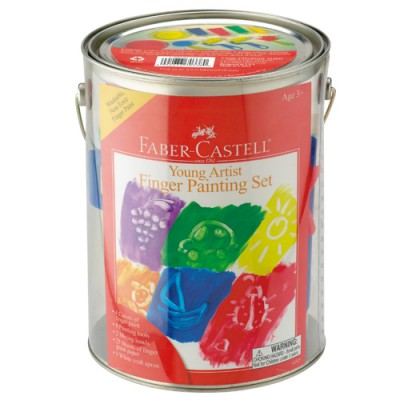 Faber Castell Young Artist Finger Painting Set