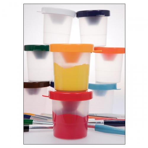 First Impressions Paint Cups With Color Pigment