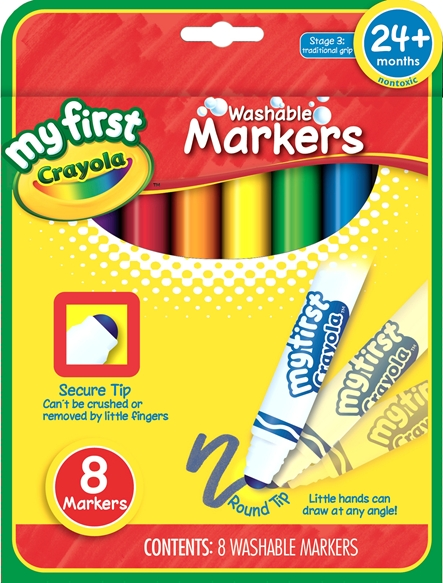 My First Crayola Washable Markers 8 ct.
