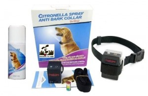 NO BARK Dog Collar Citronella Spray Anti-Bark Collar for Dogs Kit