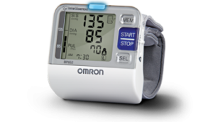Omron Wrist Blood Pressure Monitors - On The Go