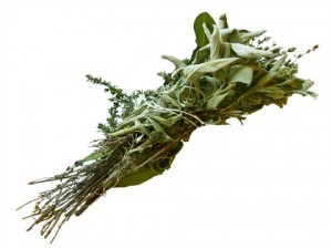 Herbal Cure for Fibroids - Herbs Bouquet garni