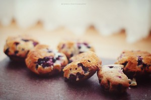 PCOS Diet Recipes - Blueberry Cakes