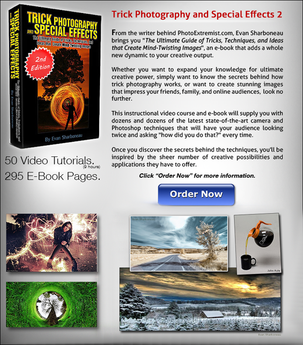 Trick Photography and Special Effects 2 - Video Tutorials + E-Book