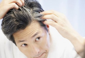 How To Stop Gray Hair - Graying Hair Man