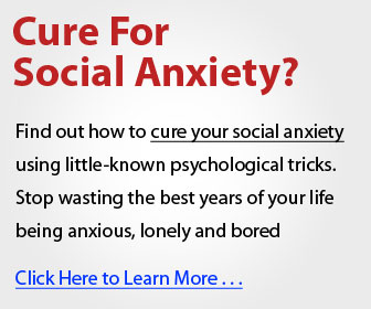 Overcome Shyness - Cure for Social Anxiety