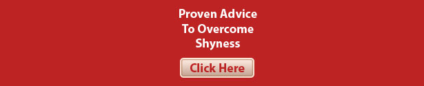 Proven Advice To Overcome Shyness